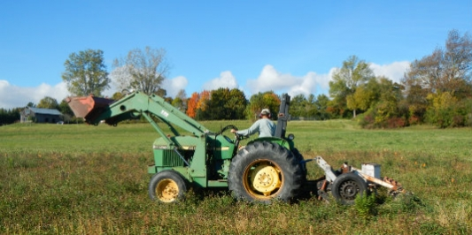 Keyline Plowing is One Approach for Addressing Soil Compaction
