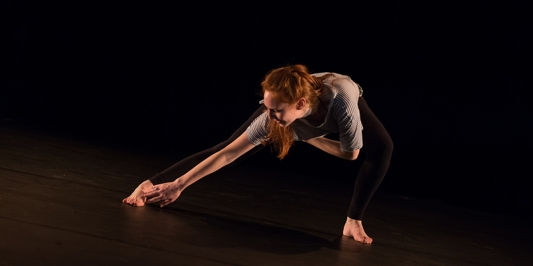 Mollie Morgan dancing
