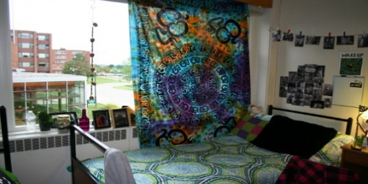 student room interior