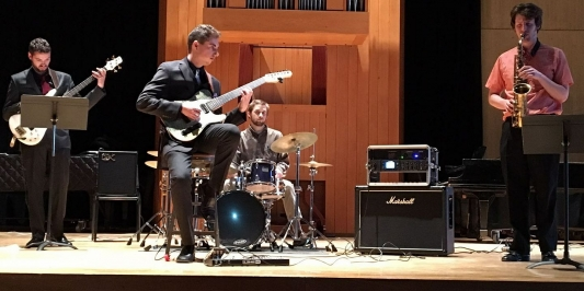Paolo Cannizzaro, UVM jazz guitar senior recital