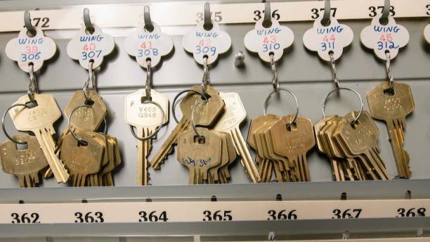 keys on a hook