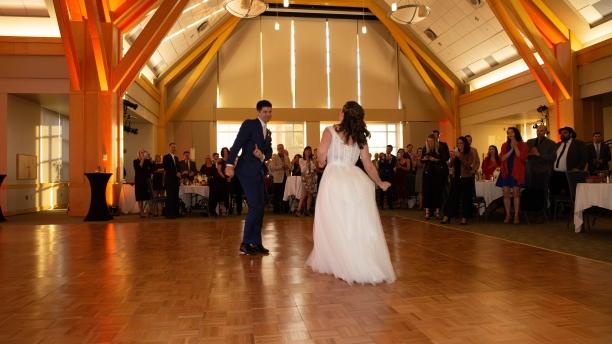 Wedding at UVM in the Davis Center