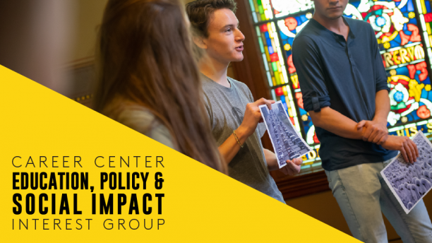 Career Center Education, Policy & Social Impact Interest Group