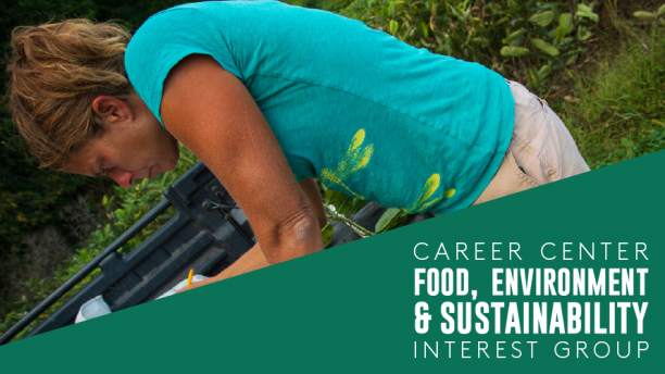 Career Center Food & Sustainability Interest Group