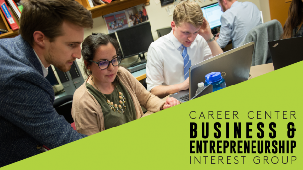 Career Center Business & Entrepreneurship Interest Group