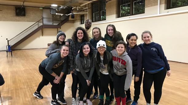 dance workshop with Ephrat Asherie (photo by Emma Hintz)