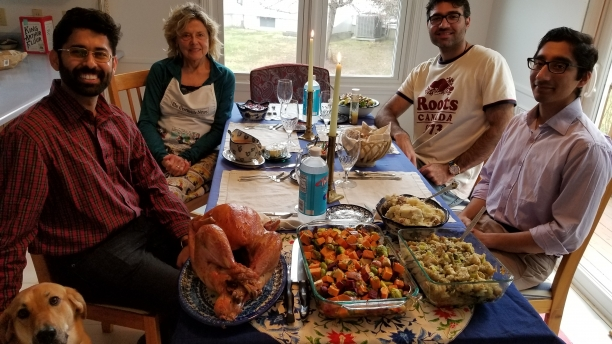 Thanksgiving Meal with Local Hosts