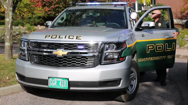 UVM Police Services vehicle