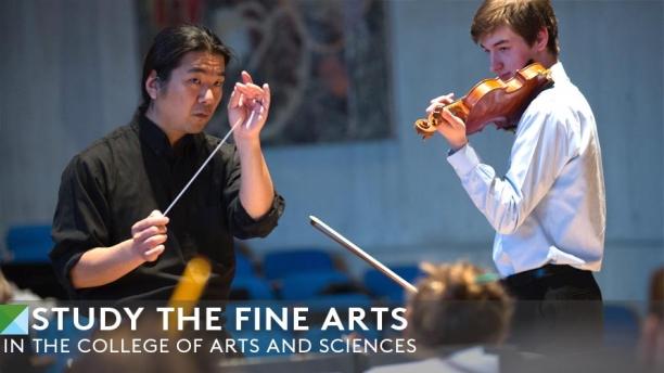 Studying the Fine Arts - UVM Symphony Orchestra