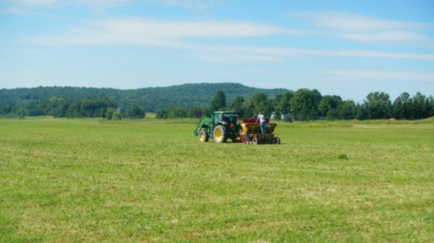 Helping Vermont farmers adapt to a changing climate while also reducing their contributions to it.