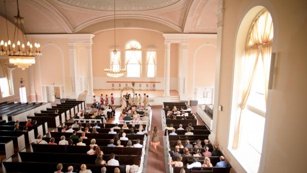 Wedding Ceremony Ira Allen Chapel at UVM