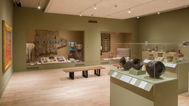 Image of the Museum's Native American Gallery