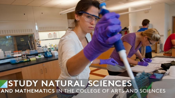 Study Natural Sciences and Mathematics - Chemistry lab