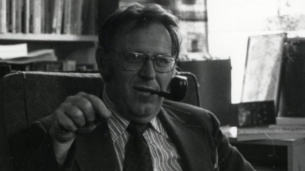 Photo of Samuel B. Hand, founder of the Center for Research on Vermont.