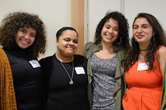 Social Work students together at CESS Honors event