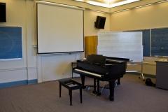 UVM music classroom 202