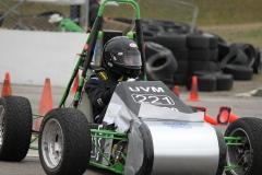 AERO Car at Competition