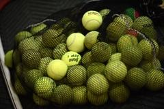 Bag of tennis balls