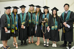 Individually Designed Majors together at Commencement.