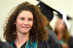 HDFS student at Commencement