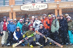 Ski Area Management Course Students at Stowe Resort