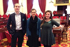 Students at the Statehouse
