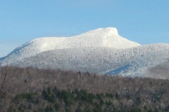 Camel's Hump in winter