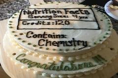 DNFS Graduation Cake