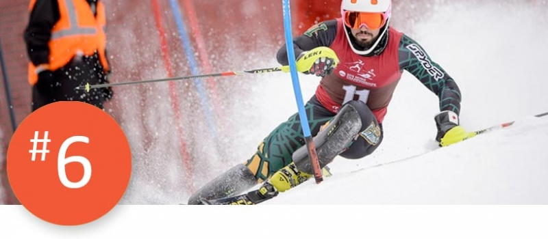 Junior Dom Garand won the national championship in men's slalom