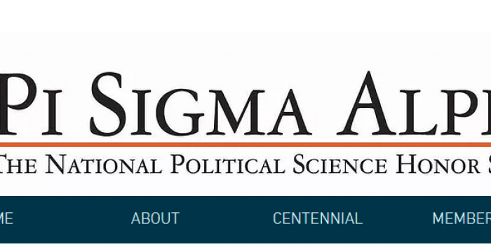 Pi Sigma Alpha (PSA) Undergraduate Research Conference homepage banner