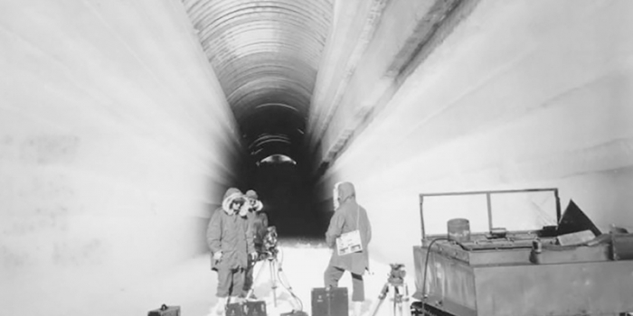 Camp Century ice tunnel