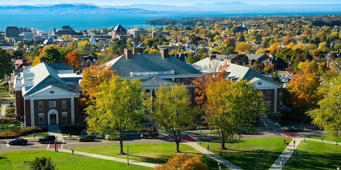 Photo of UVM's campus