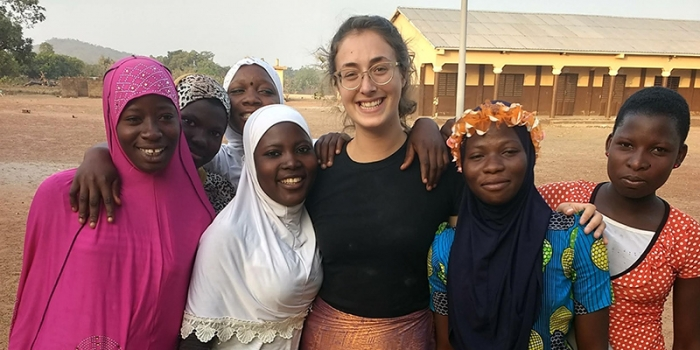 UVM alum and Peace Corps volunteer Molly Duff
