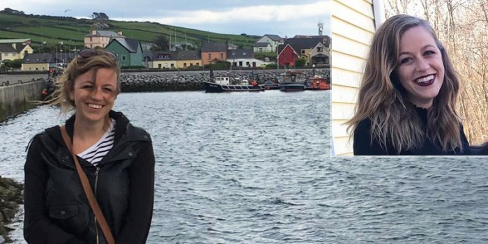 Jessica Slayton in Dingle, Ireland