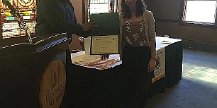 2016 Global Studies Scholar Award winner Sammie Ibrahim