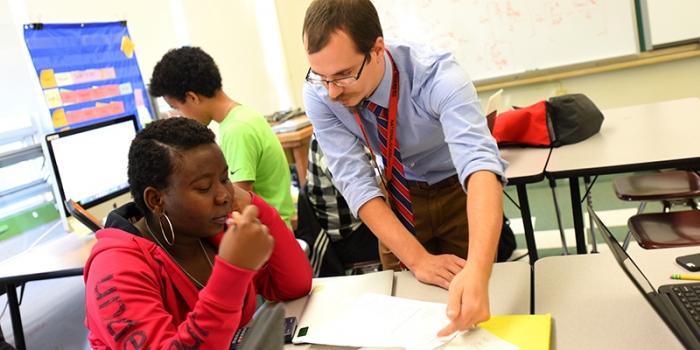 Vermont Teacher of the Year Tom Payeur