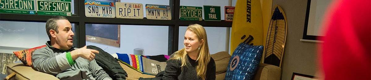 Alum mentoring UVM student