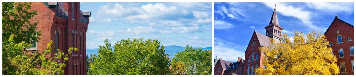 UVM campus views