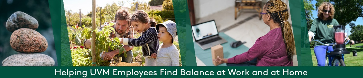 Helping UVM Employees find balance at work and at home