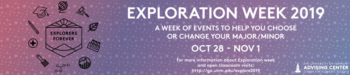 Exploration Week Banner