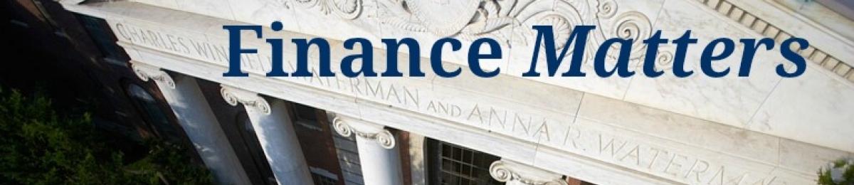 Finance Matters Banner