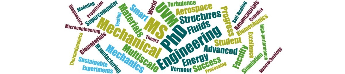 Graduate Program | Department of Mechanical Engineering
