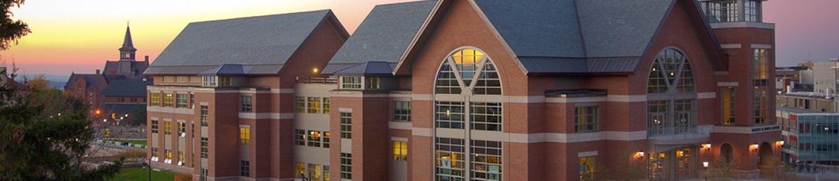 Davis Student Center and campus