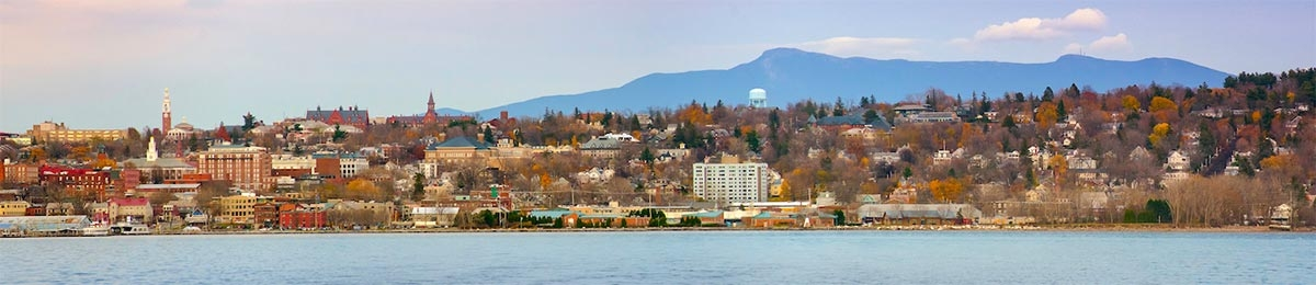 Burlington and the green montains