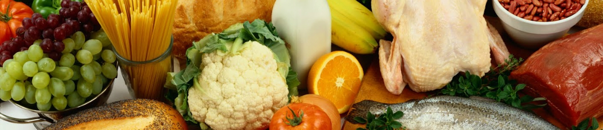 Fruits, Vegetables, Grains and Protein