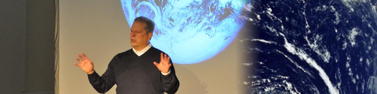 Al Gore at UVM