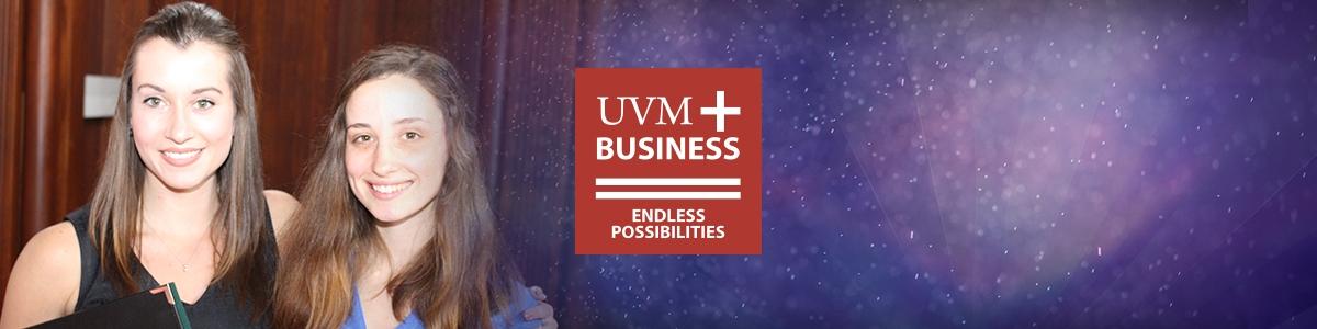 UVM, grossman school of business