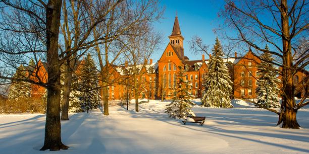 Photo of University of Vermont campus