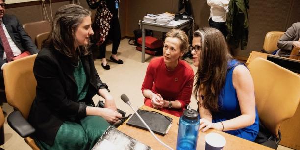Jill Kubit and Trisha Shrum speak with