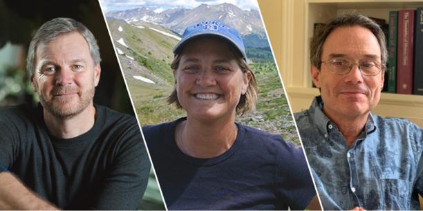 Gund Fellows Taylor Rickets, Aimee Classen, and Nicholas Gotelli